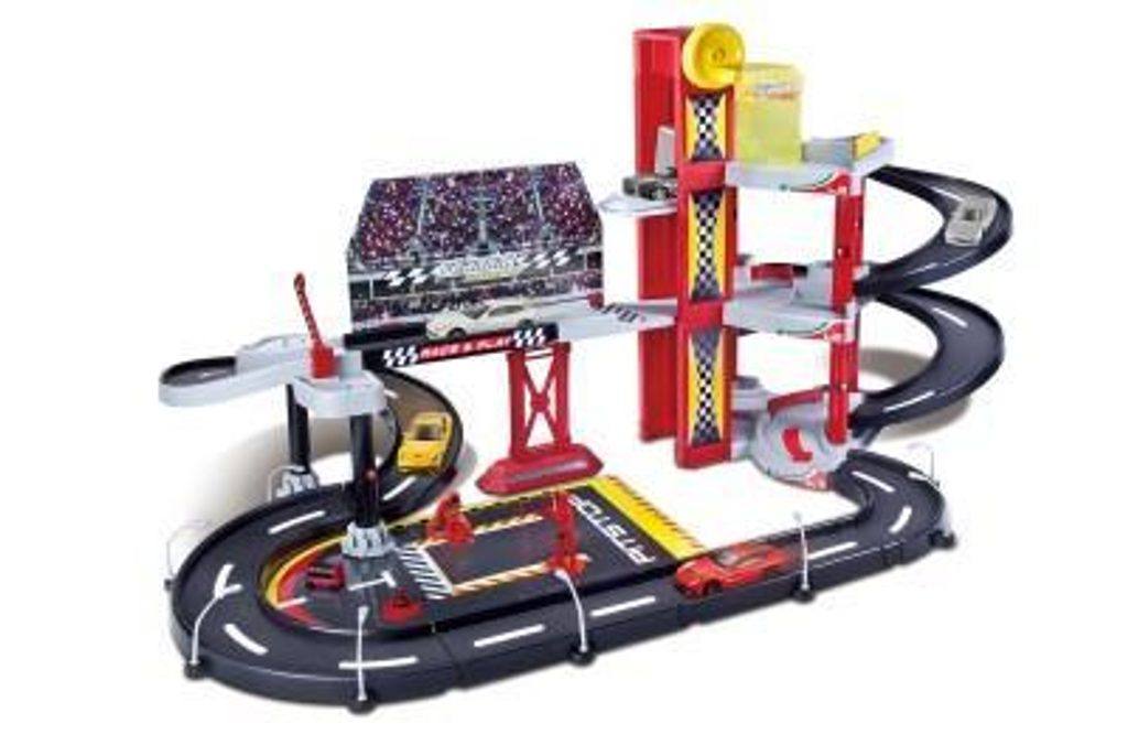 Garáž Ferrari Racing, Bburago, 102386