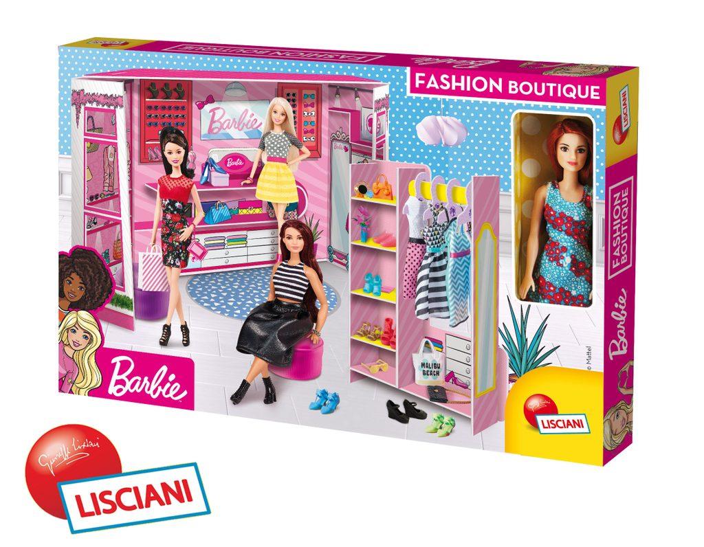 Lisciani Barbie módní butik s panenkou, Lisciani, W010928