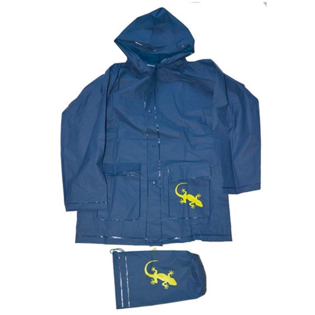 pláštěnka Salamander+pytlik, Pidilidi, PL0045-04, modrá - 140