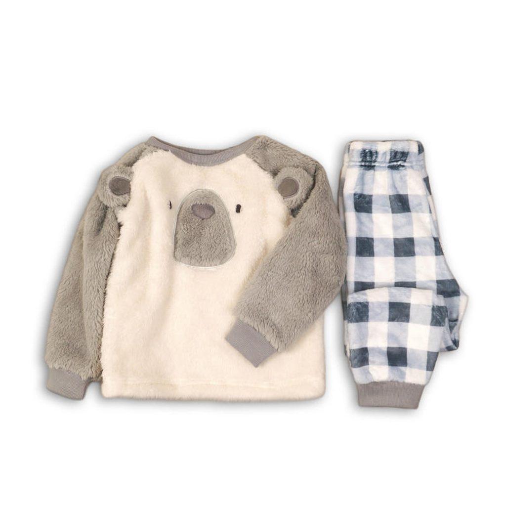 Pyžamo chlapecké fleezové, Minoti, FLUFF 4, kluk - 80/86