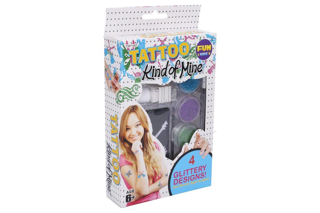 Tetování se třpytkami - holky, Funkidz, W008166