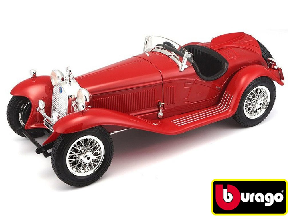 Bburago 1:18 Alfa Romeo 8C 2300 Spider Touring (1932) Red, Bburago, W007237