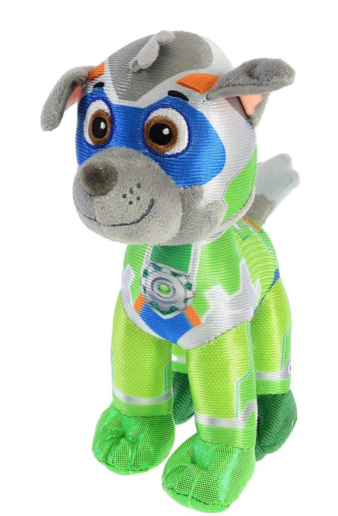Paw Patrol Super Mighty Pups plyšový Rocky 27cm, Mikro Trading, W011566
