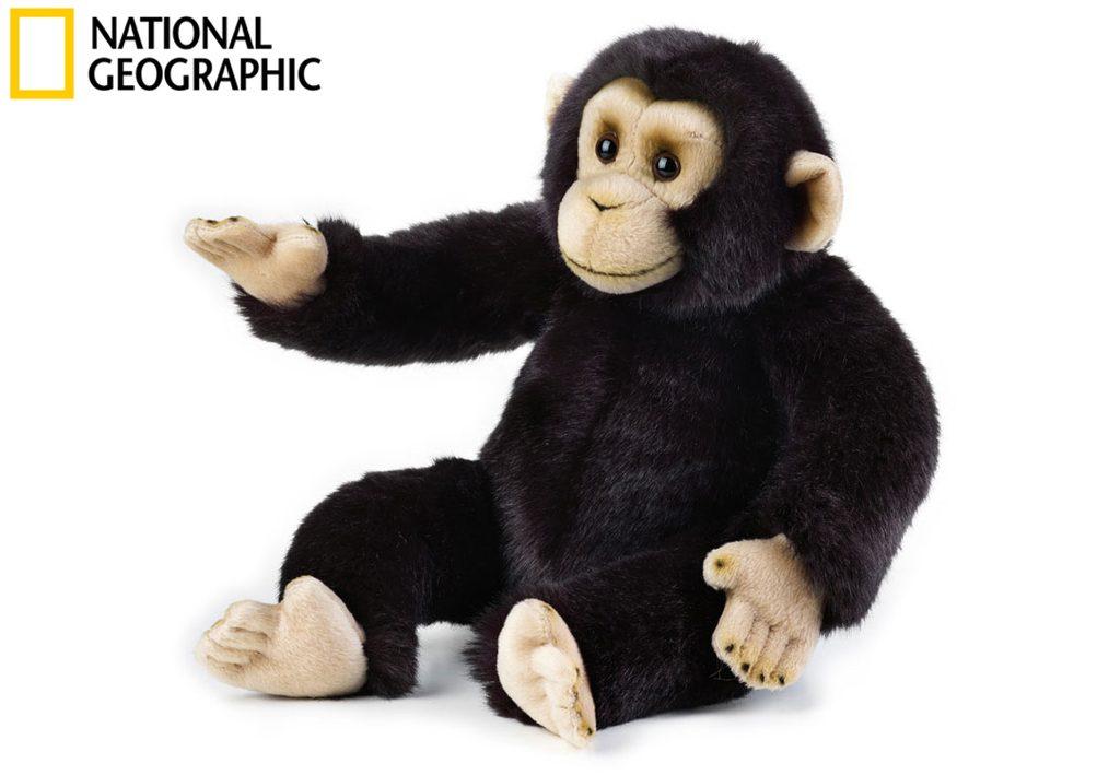 National Geografic Zvířátka z deštného pralesa 770713 Šimpanz 36 cm, National Geographic, W011666