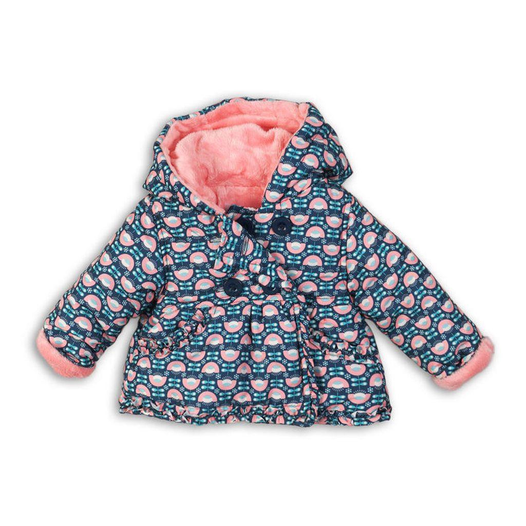 Kabátek kojenecký vyteplený, Minoti, PRINCESS 4, modrá - 86/92
