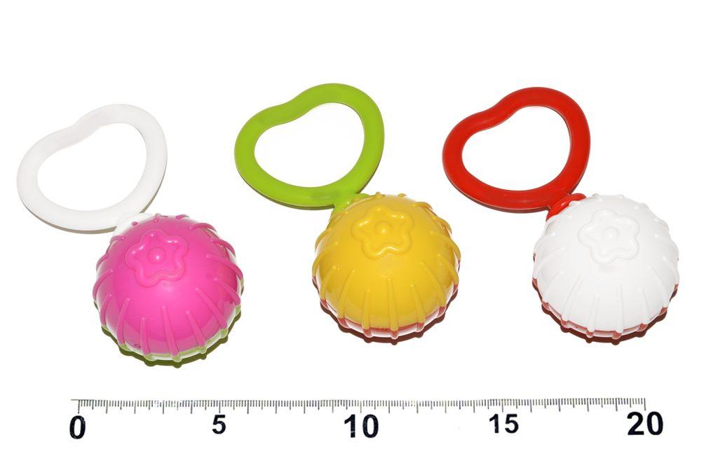 Chrastítko - koule na srdíčku, Profibaby, W105166