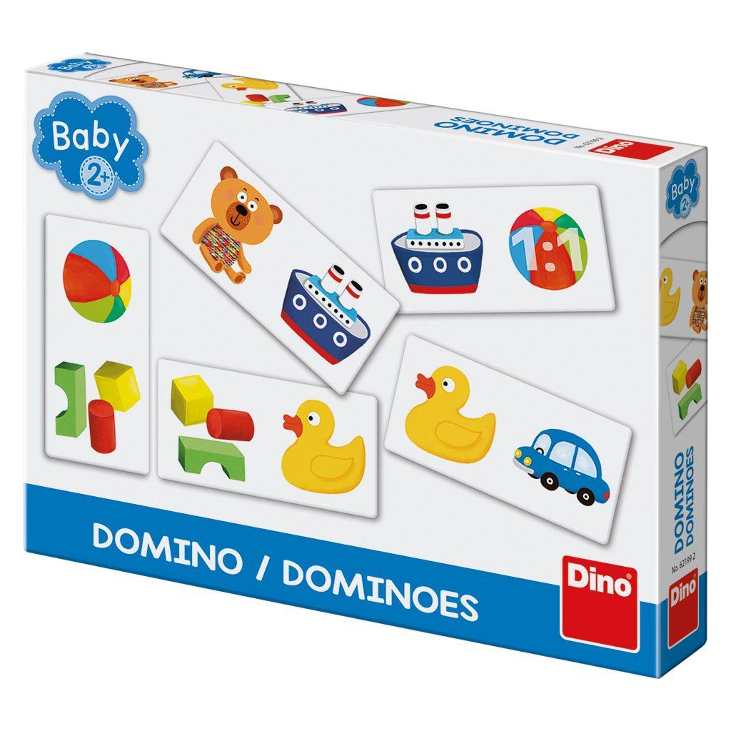Domino baby hračky, Dino Hry, W562199
