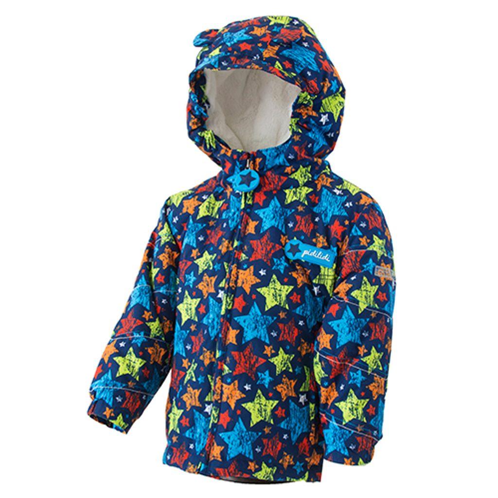 bunda zimní chlapecká s kožíškem, Pidilidi, PD1081-02, Kluk - 92