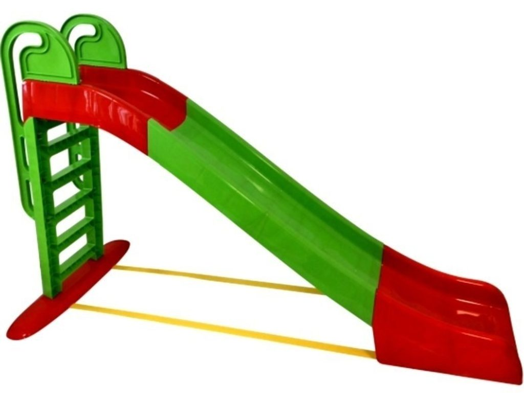 Skluzavka 243 cm zeleno-červená, Doloni, W012928