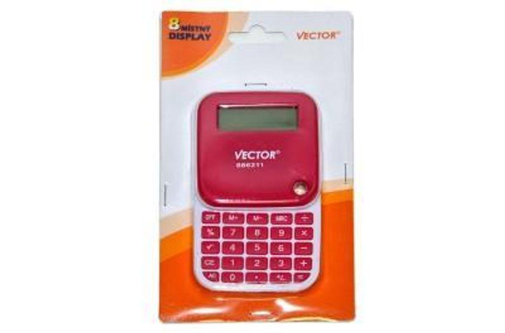 Stylová skládací kalkulačka, Vector, 886211