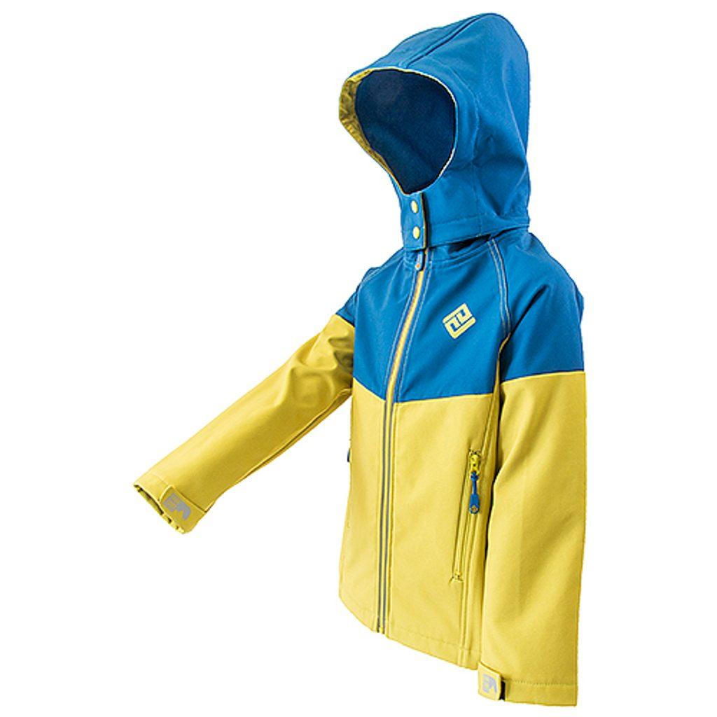 bunda softshellová chlapecká s kapucí, Pidilidi, PD1073, kluk - 98