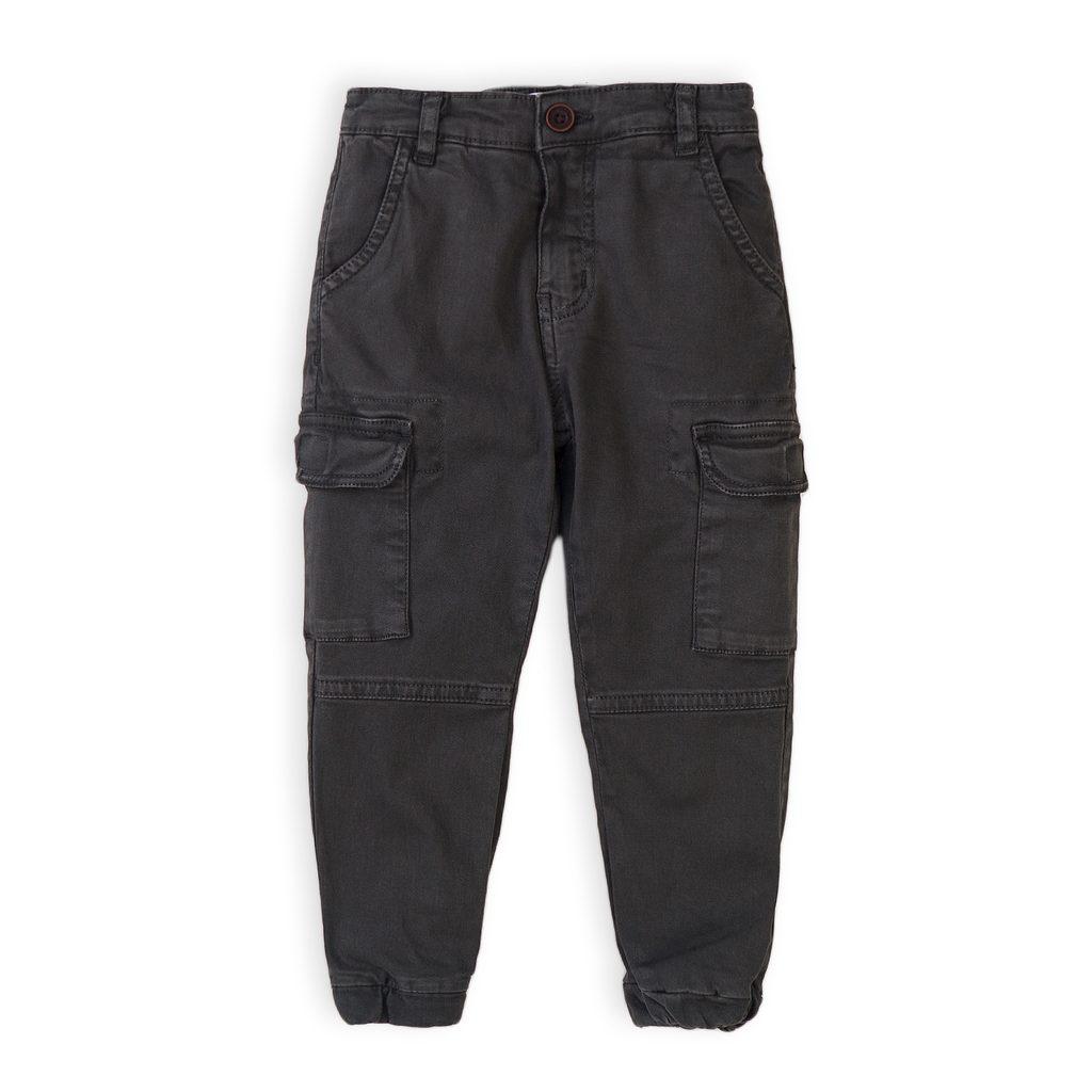 Kalhoty chlapecké kapsáčové, Minoti, 5COMBAT 2, šedá - 98/104