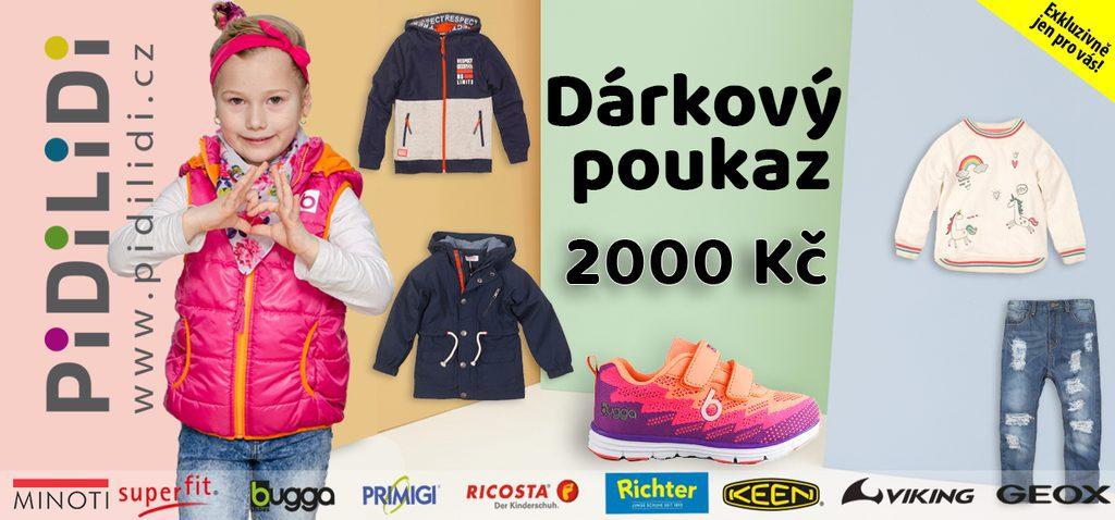 Dárkový e-poukaz 2000 - Dárkový poukaz 2000