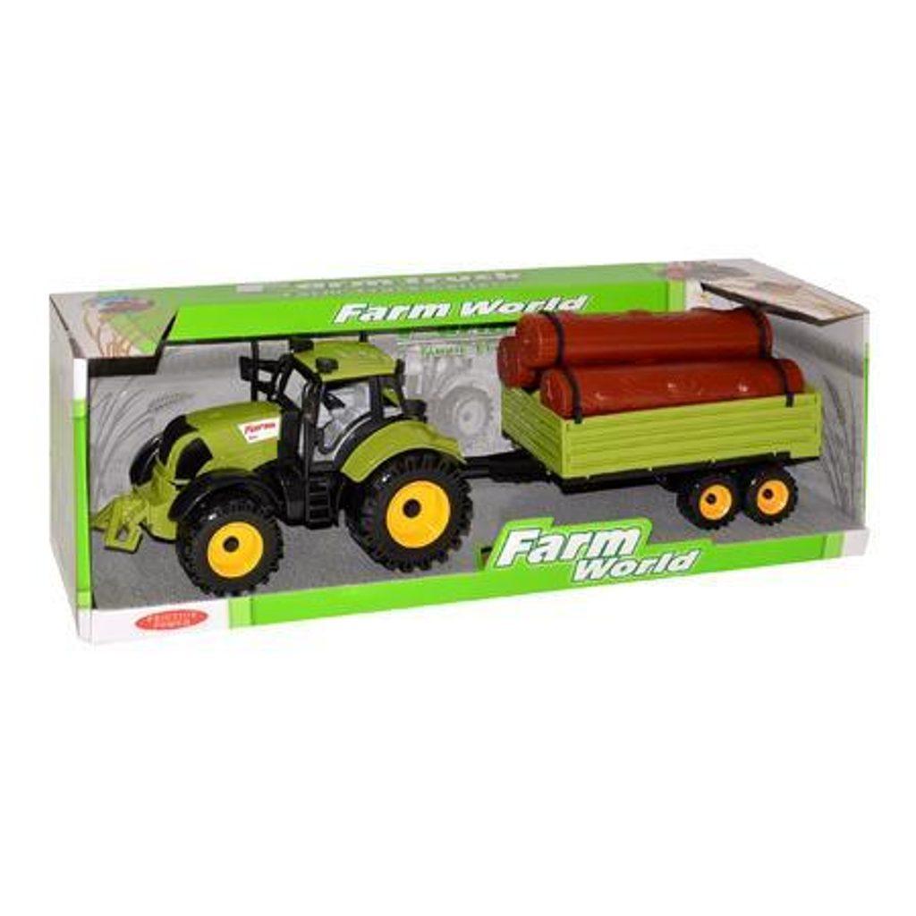Traktor s vlečkou 45 cm, 110879