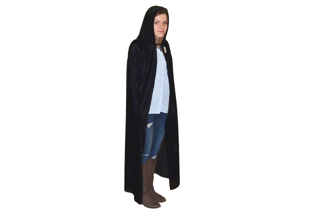 Černý plášť 130cm, Wiky, W880344