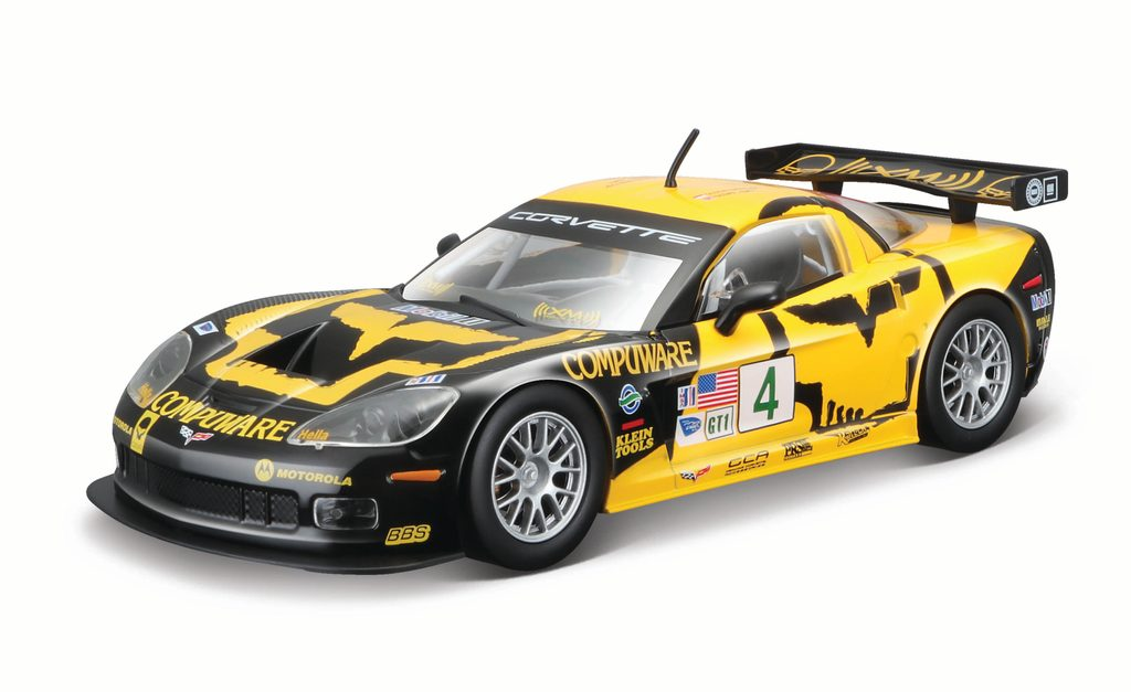 1:24 Race Chevrolet Corvette C6R, Bburago, W002885