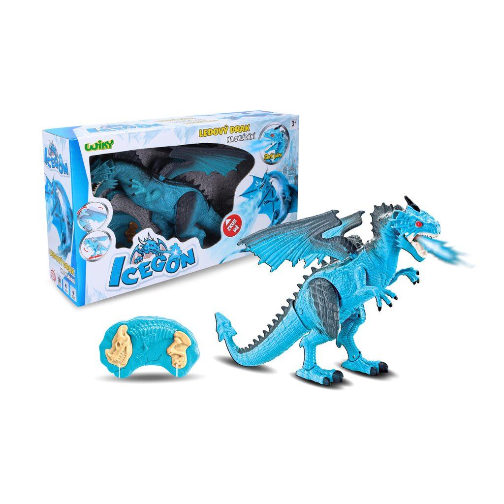 Icegon (ledový drak) s efekty RC 45 cm, Wiky RC, W001600