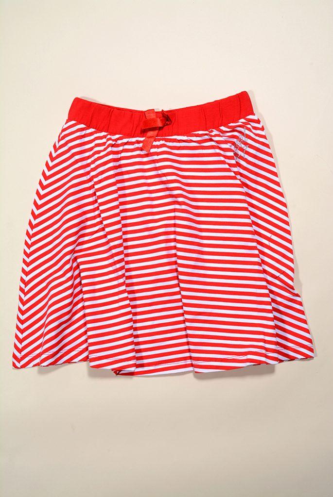 sukně letní dívčí, Wendee, DY17127-1, červená - 98