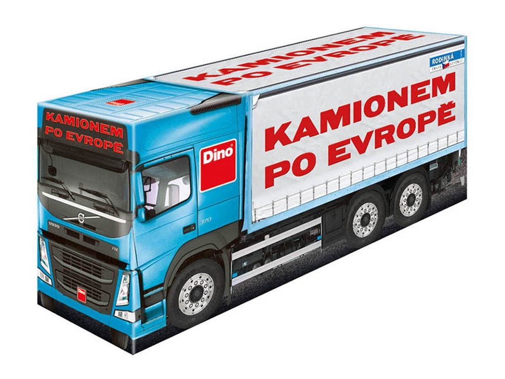 Hra Kamionem po Evropě, Dino Hry, W563144