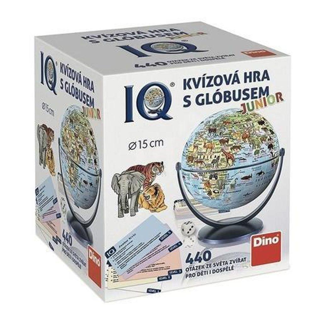 Politický kvíz s globusem Rodinná hra, Dino Hry, W86030