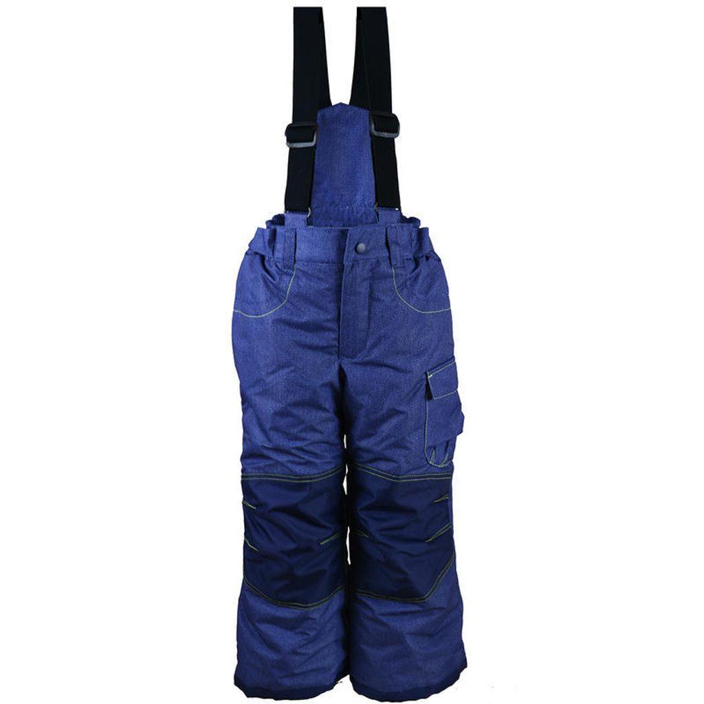 kalhoty zimní lyžařské, Pidilidi, PD1025-04, modrá - 134