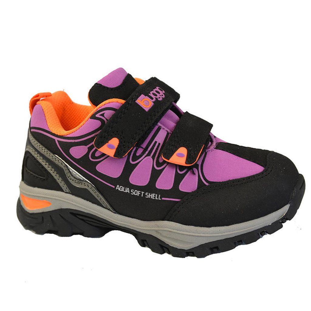boty dětské softshell, Bugga, B00132-03, růžová - 35