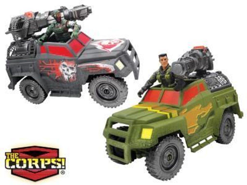 The CORPS! Bitevní vůz Coyote Charger, WIKY, 282311