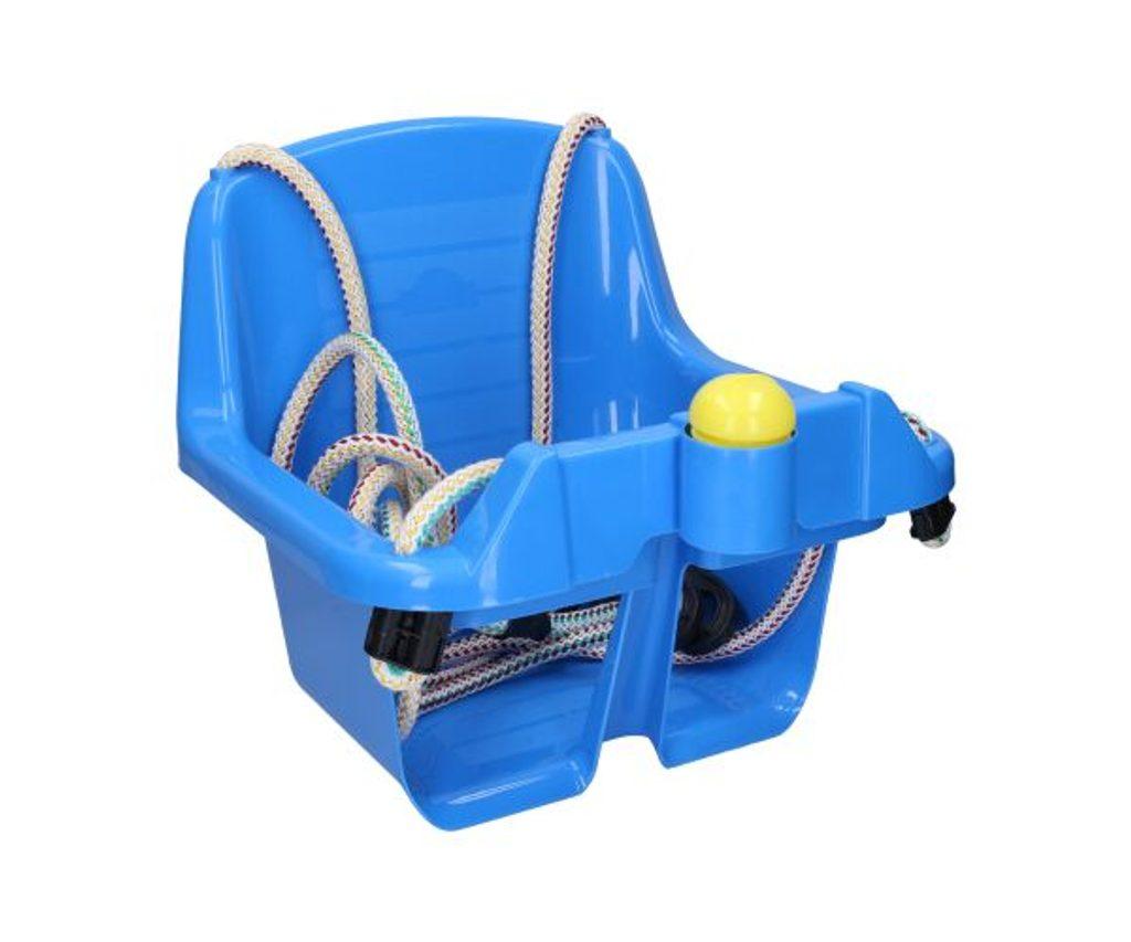 Houpačka dětská plastová modrá, Wiky, W011905
