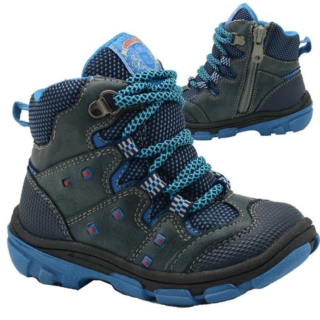 boty dětské zimní, Bugga, B00142-04, modrá - 26