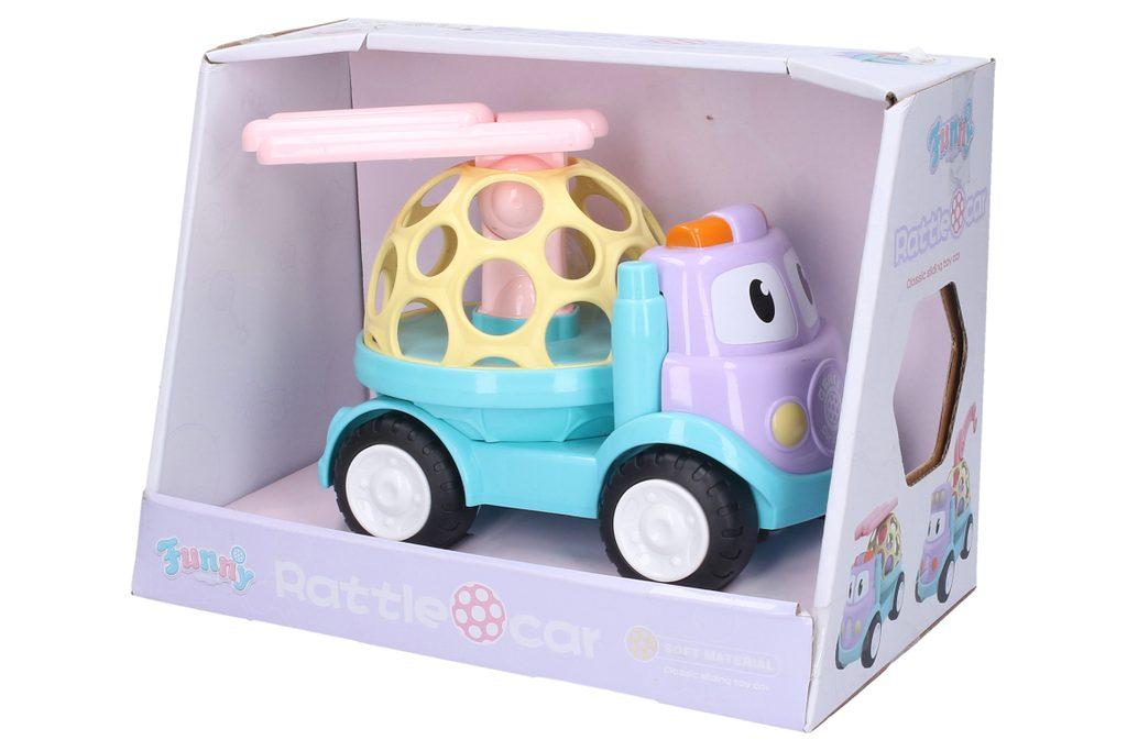 Chrastítko Auto s žebříkem 18 cm, Wiky Vehicles, W007546