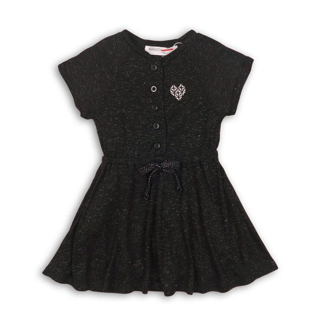 Šaty dívčí, Minoti, SUPER 2, černá - 110/116
