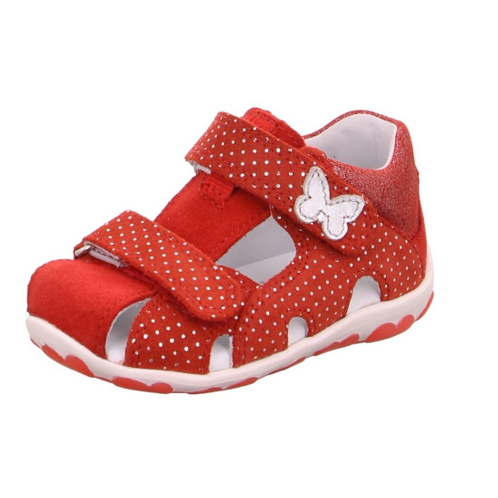 Dívčí sandály FANNI, Superfit, 0-609041-5000, červená - 26