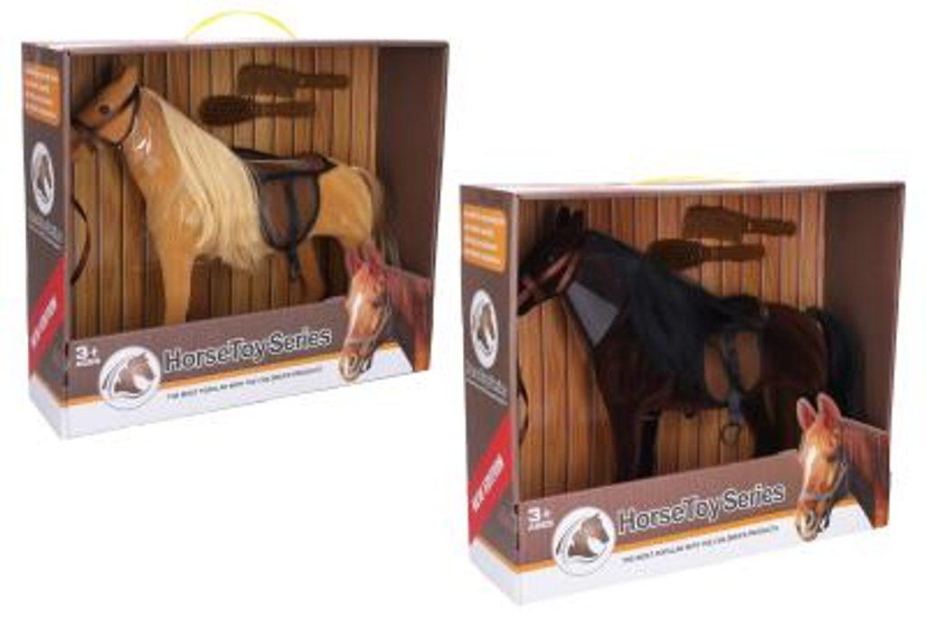 Kůň s příslušenstvím 37 cm, Wiky, W006555