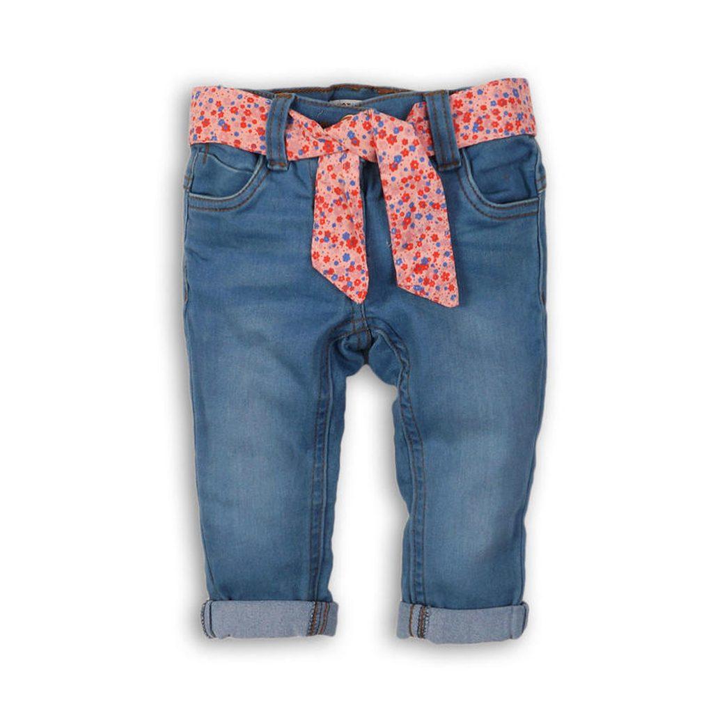 Kalhoty džínové dívčí, Minoti, PRETTY 5, holka - 98/104
