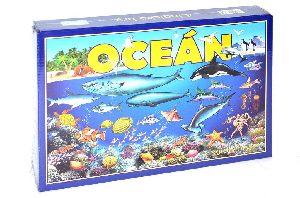 Oceán - společenská hra, Wiky, W209067