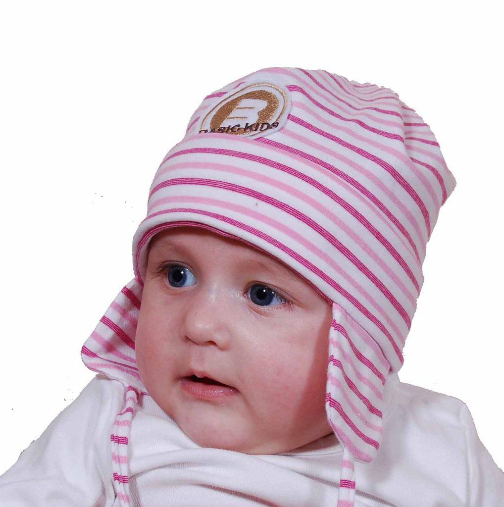 čepice dětská, Pidilidi, PD413, růžová - 47