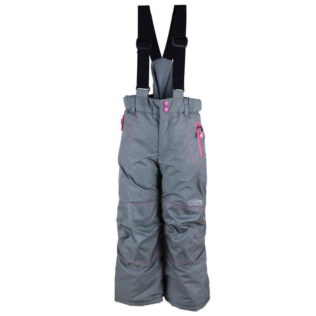 kalhoty zimní lyžařské, Pidilidi, PD1018-09, šedá - 146/152