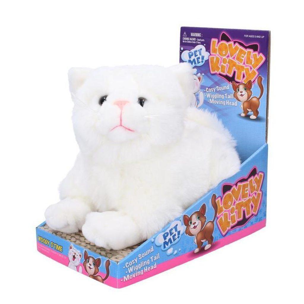 Mňoukající kočička 23 cm, WIKY, 105313