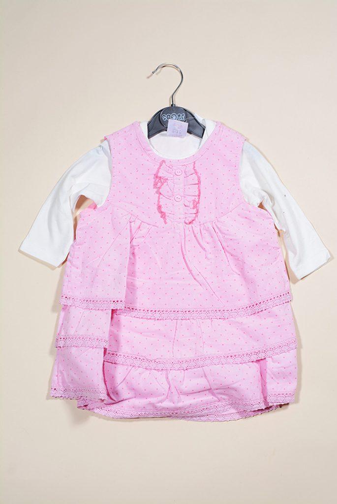 šatovka a tričko, Sobe, 14KKNAUODS4292, růžová - 68