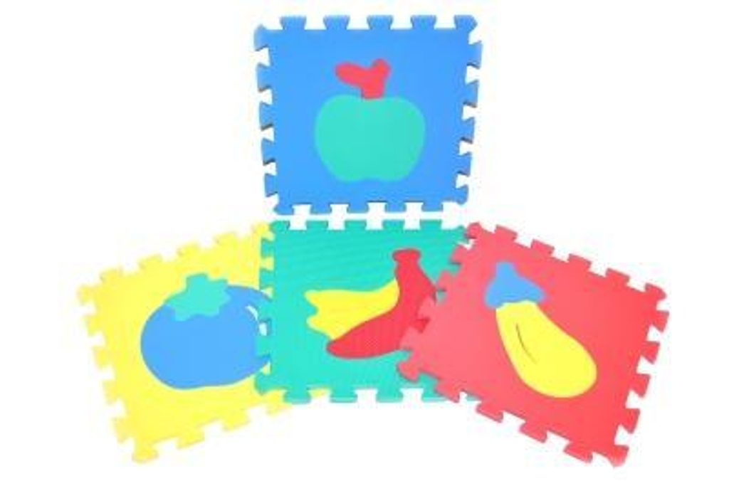 Měkké puzzle bloky, WIKY, 118622