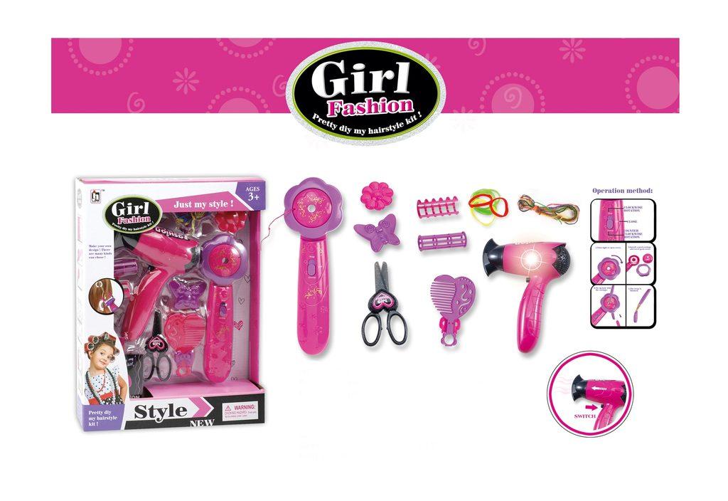 Vlasový set pro holčičky, Wiky, W001874