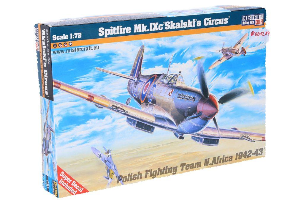 Model letadla Spitfire Mk.IX Skalki, Mister Craft, W001289