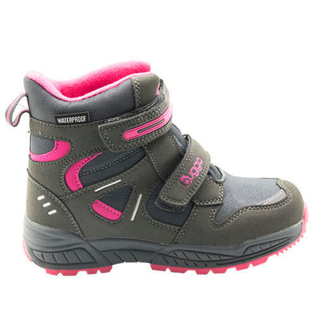 dětské zimní boty, Bugga, B00151-09, šedá - 29