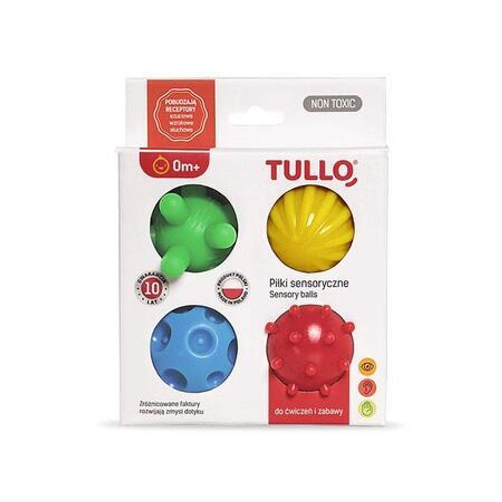Stimulační balónky TULLO 4 ks, Profibaby, W202128