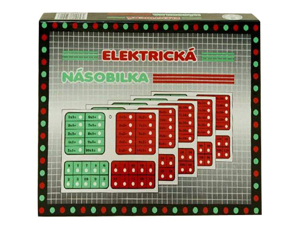 Elektrická výuková hračka - Elektrická násobilka, Svoboda, W200001