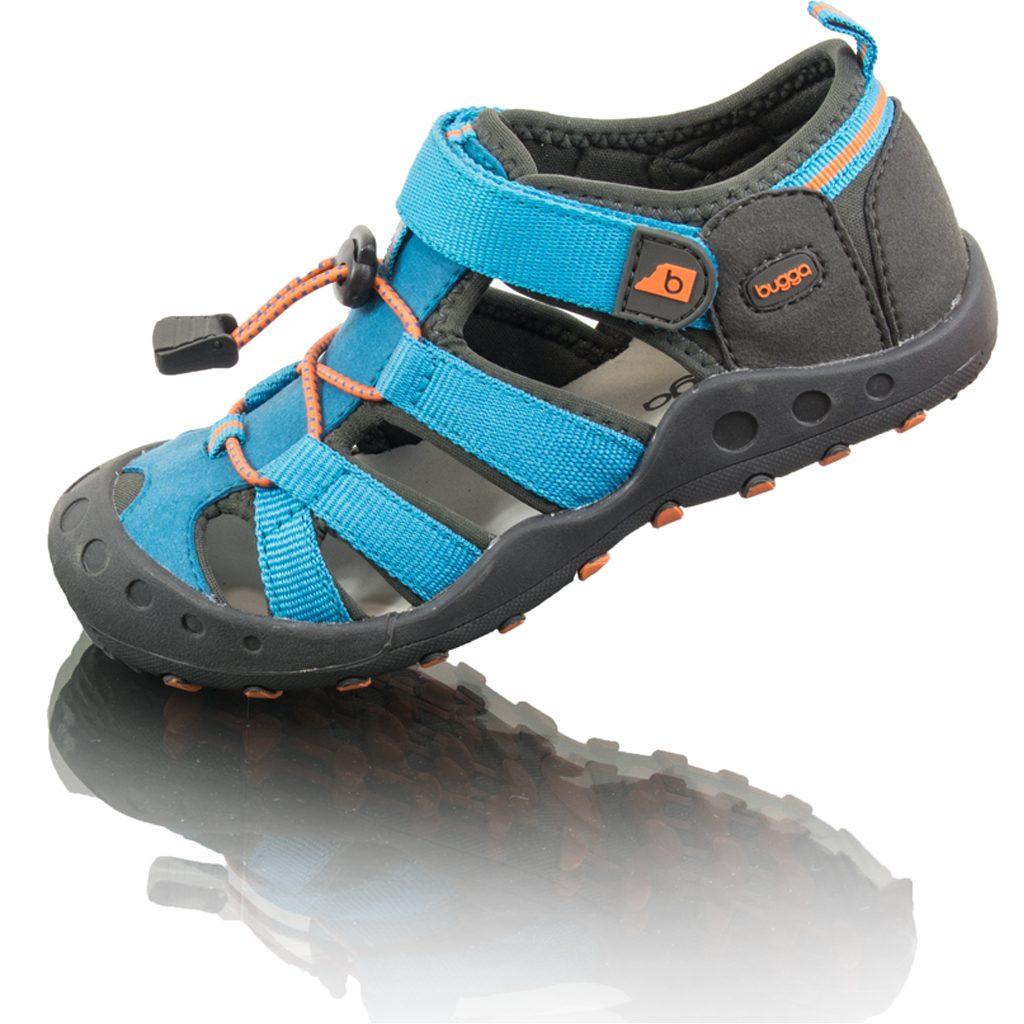dětské sportovní sandály LALA, Bugga, B00164-04, modrá - 35
