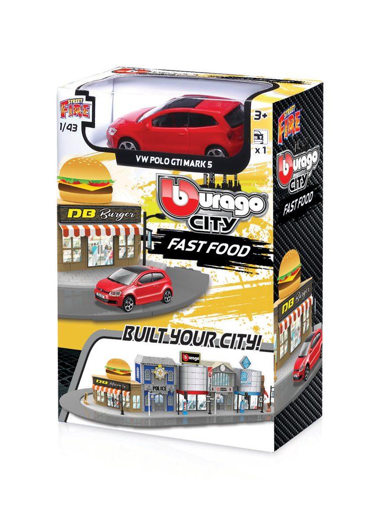 Bburago city 1:43 18-31504 Fast food, Bburago, W010102