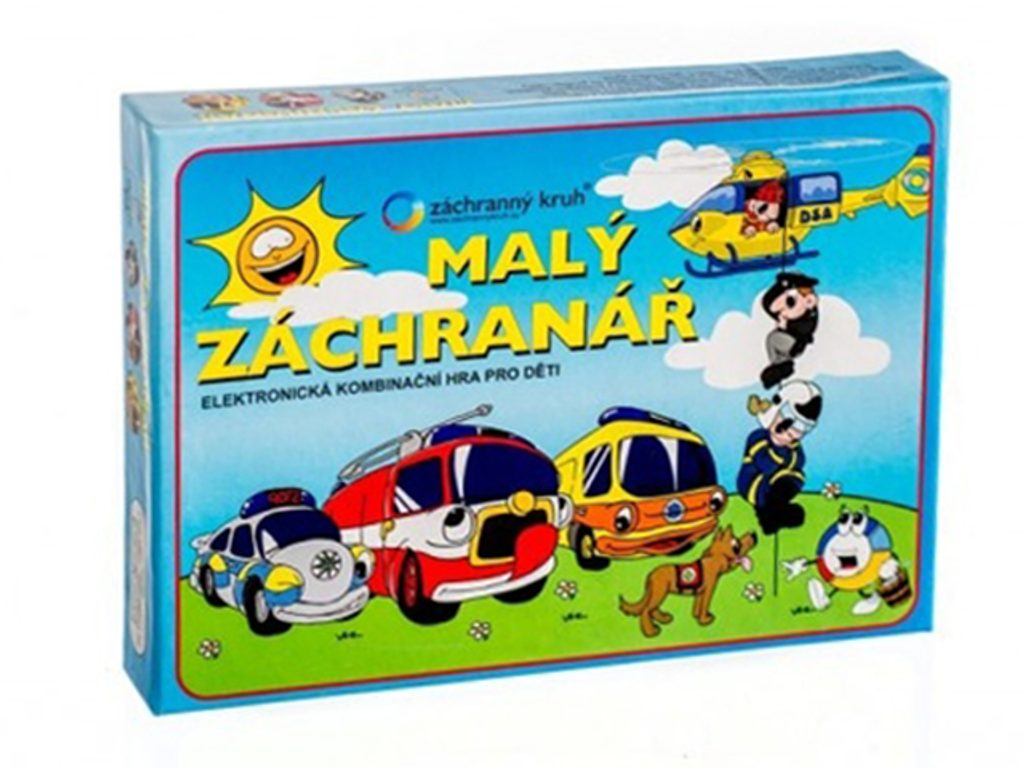 Malý záchranář společenská hra na baterie v krabici 22x16x3cm, Svoboda, W200018