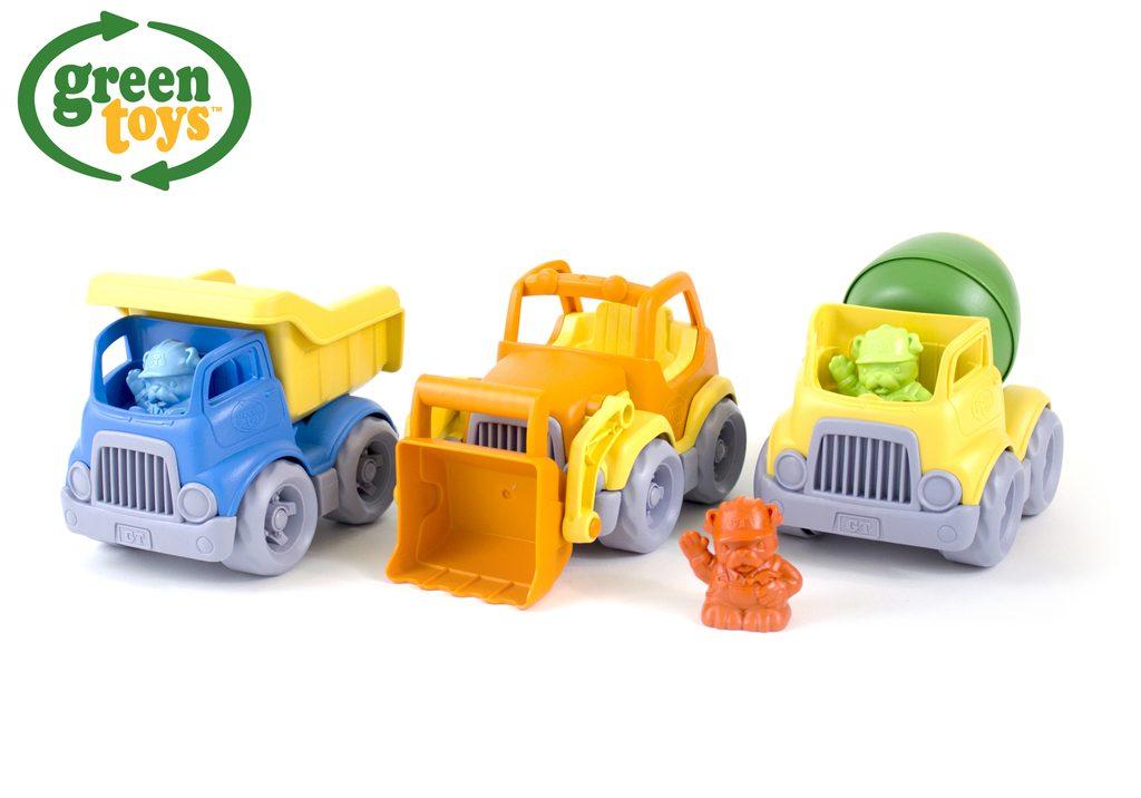 Green Toys Stavební stroje set, Green Toys, W009297