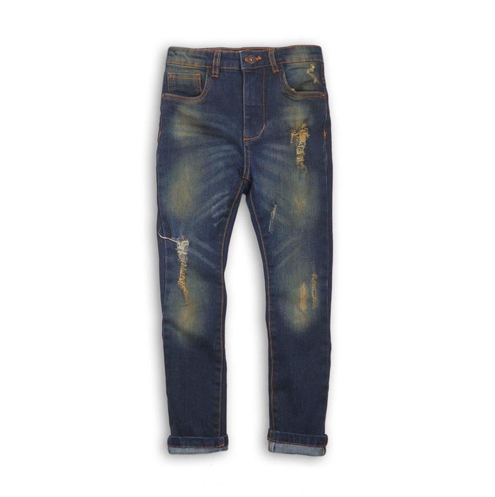 Kalhoty chlapecké džínové s elastenem, Minoti, EXPO 7, kluk - 140/146